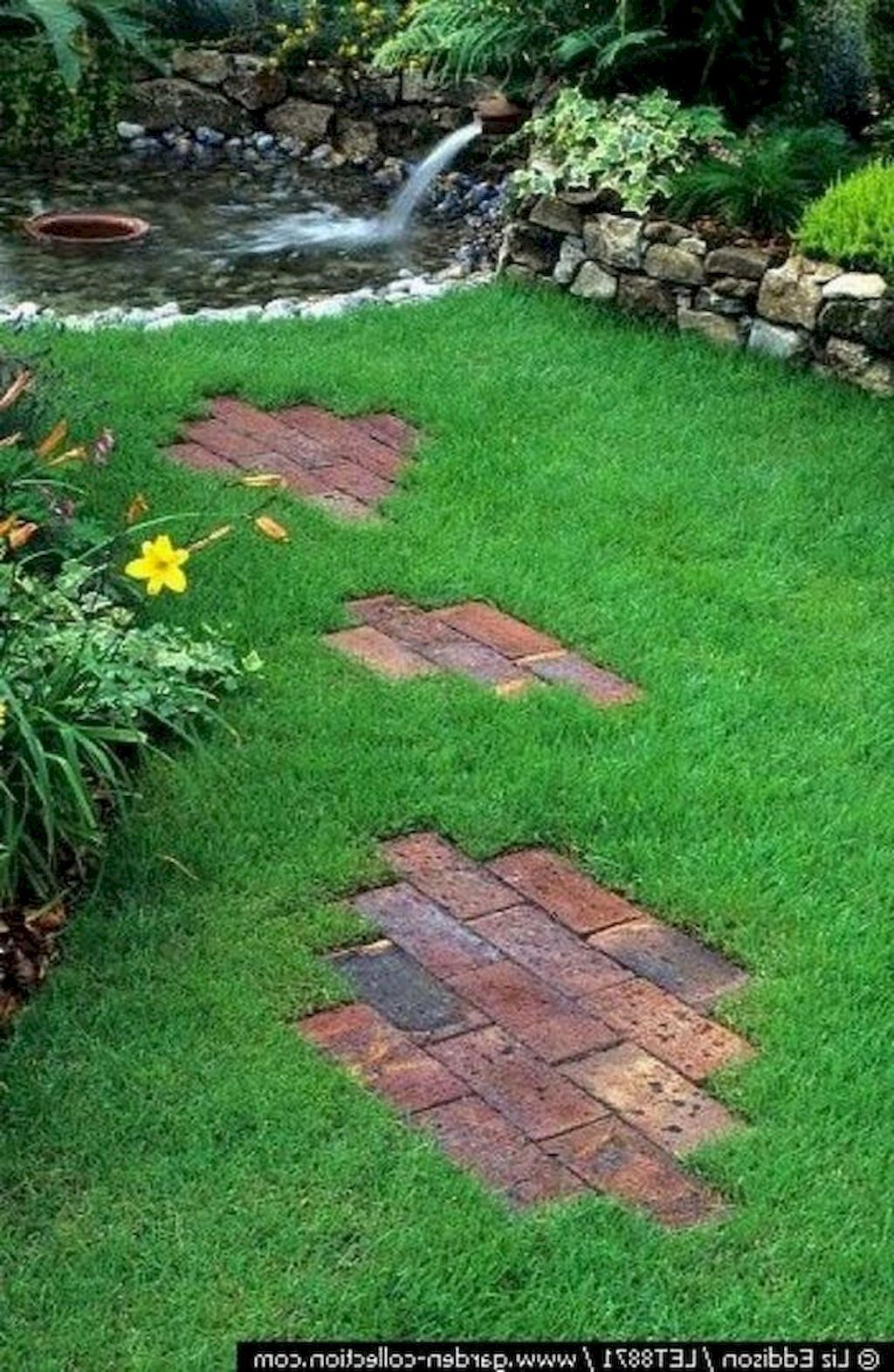 Creative Diy Garden Walkways Ideas For Stunning Home Yard24