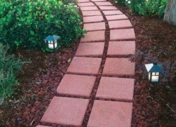 Creative Diy Garden Walkways Ideas For Stunning Home Yard27