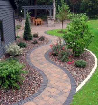 Creative Diy Garden Walkways Ideas For Stunning Home Yard33