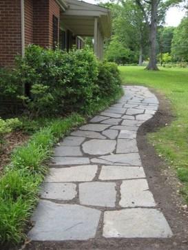 Creative Diy Garden Walkways Ideas For Stunning Home Yard34