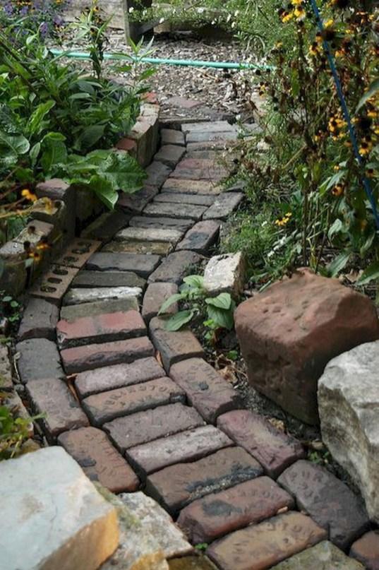Creative Diy Garden Walkways Ideas For Stunning Home Yard48