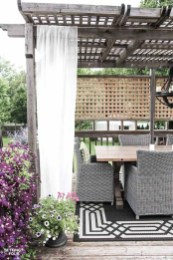 Creative Ideas To Decorate Your Outdoor Room01