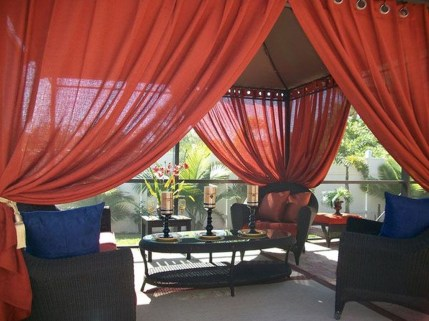 Creative Ideas To Decorate Your Outdoor Room06