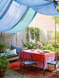 Creative Ideas To Decorate Your Outdoor Room20