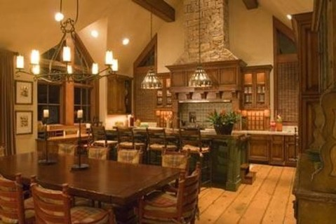 Extraordinary County Rustic Kitchen Ideas For Inspiration01