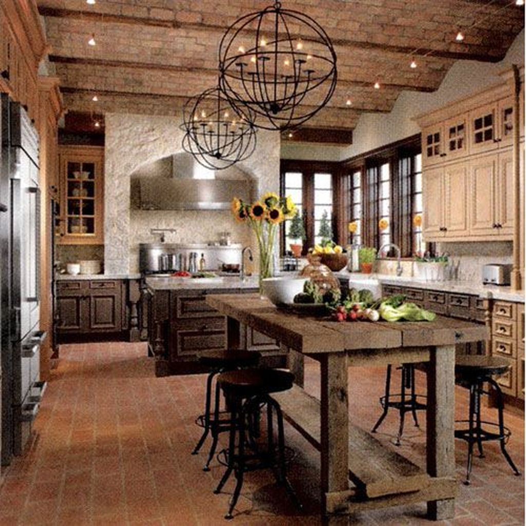 Charming Rustic Kitchen Ideas And Inspirations: 44 Extraordinary County Rustic Kitchen Ideas For