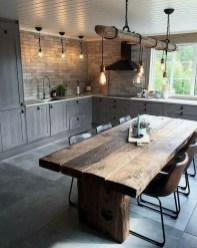 Extraordinary County Rustic Kitchen Ideas For Inspiration25