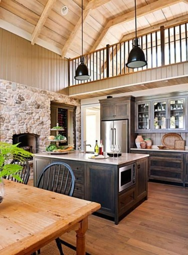 Extraordinary County Rustic Kitchen Ideas For Inspiration35
