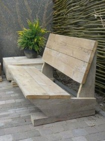 Fabulous Diy Outdoor Bench Ideas For Your Home Garden03