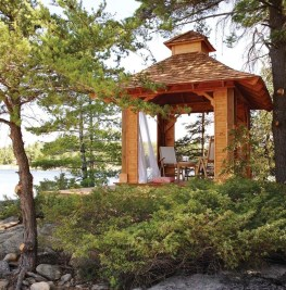 Impressive Gazebo Design Inspiration For Minimalist Garden02