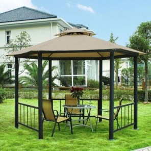Impressive Gazebo Design Inspiration For Minimalist Garden17