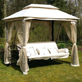 Impressive Gazebo Design Inspiration For Minimalist Garden19