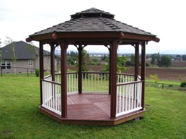 Impressive Gazebo Design Inspiration For Minimalist Garden29