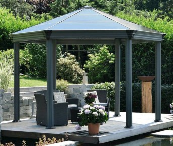 Impressive Gazebo Design Inspiration For Minimalist Garden31