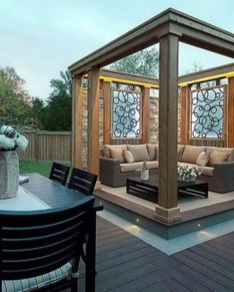 Impressive Gazebo Design Inspiration For Minimalist Garden35