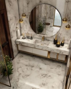 Luxury Bathroom Decoration Ideas For Enjoying Your Bath14