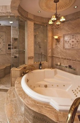 Luxury Bathroom Decoration Ideas For Enjoying Your Bath18