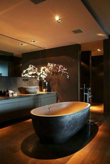 Luxury Bathroom Decoration Ideas For Enjoying Your Bath38