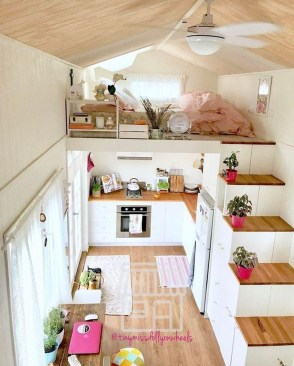 Smart Ideas For Decorating A Tiny House For Your Comfortable Family08