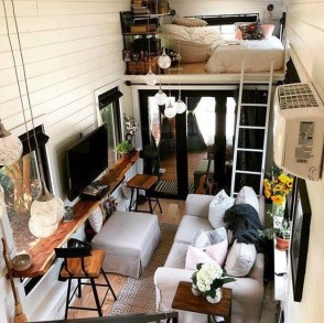 Smart Ideas For Decorating A Tiny House For Your Comfortable Family10