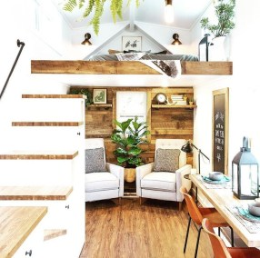 Smart Ideas For Decorating A Tiny House For Your Comfortable Family22