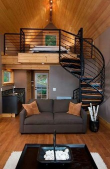 Smart Ideas For Decorating A Tiny House For Your Comfortable Family35