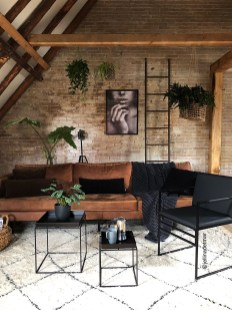 The Best Decorations Industrial Style Living Room That Will Amaze Your Guests14