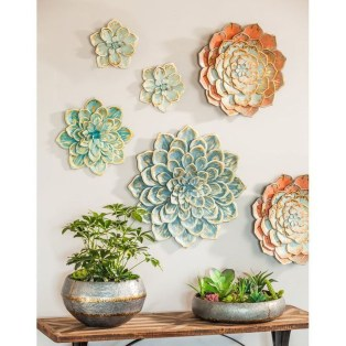 Amazing Diy Flower Wall Decoration For You Try01