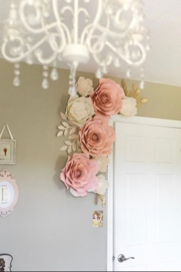 Amazing Diy Flower Wall Decoration For You Try26