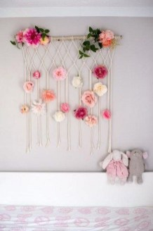 Amazing Diy Flower Wall Decoration For You Try30