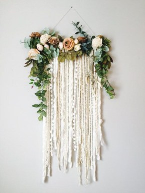 Amazing Diy Flower Wall Decoration For You Try33