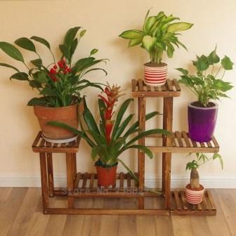 Awesome Diy Plant Shelf Design Ideas To Organize Your Garden06