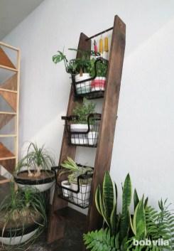 Awesome Diy Plant Shelf Design Ideas To Organize Your Garden16