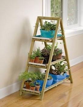 Awesome Diy Plant Shelf Design Ideas To Organize Your Garden17