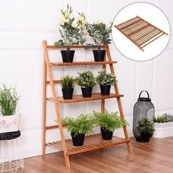 Awesome Diy Plant Shelf Design Ideas To Organize Your Garden26