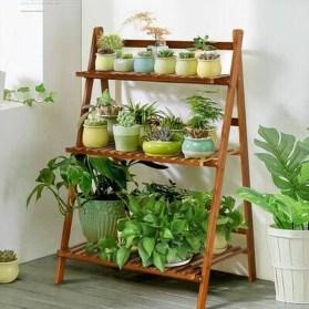 Awesome Diy Plant Shelf Design Ideas To Organize Your Garden31