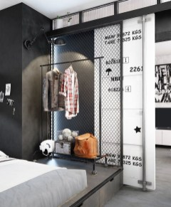 Awesome Industrial Style Bedroom Design Ideas10