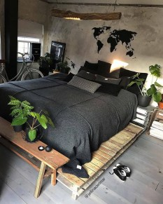 Awesome Industrial Style Bedroom Design Ideas11