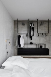 Awesome Industrial Style Bedroom Design Ideas21