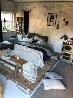 Awesome Industrial Style Bedroom Design Ideas22