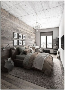 Awesome Industrial Style Bedroom Design Ideas32