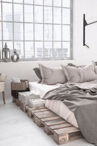 Awesome Industrial Style Bedroom Design Ideas48