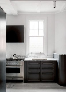 Best Monochrome Kitchen Theme Ideas For Decoration03