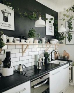 Best Monochrome Kitchen Theme Ideas For Decoration04