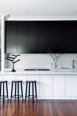 Best Monochrome Kitchen Theme Ideas For Decoration09