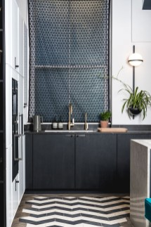 Best Monochrome Kitchen Theme Ideas For Decoration20