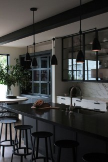 Best Monochrome Kitchen Theme Ideas For Decoration23