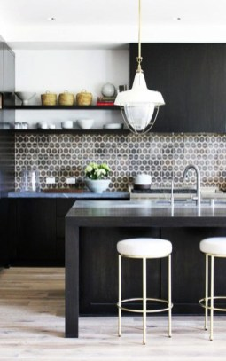 Best Monochrome Kitchen Theme Ideas For Decoration28