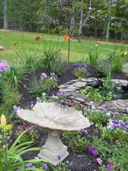 Bird Bath Design Ideas For Your Backyard Inspiration16