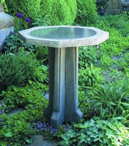 Bird Bath Design Ideas For Your Backyard Inspiration40